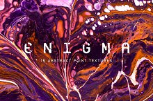 Enigma: 15 Abstract Paint Textures by  in Textures