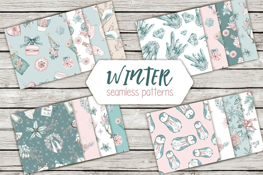 Winter patterns in Patterns - product preview 8