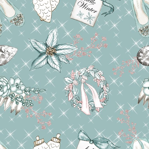 Winter patterns in Patterns - product preview 2