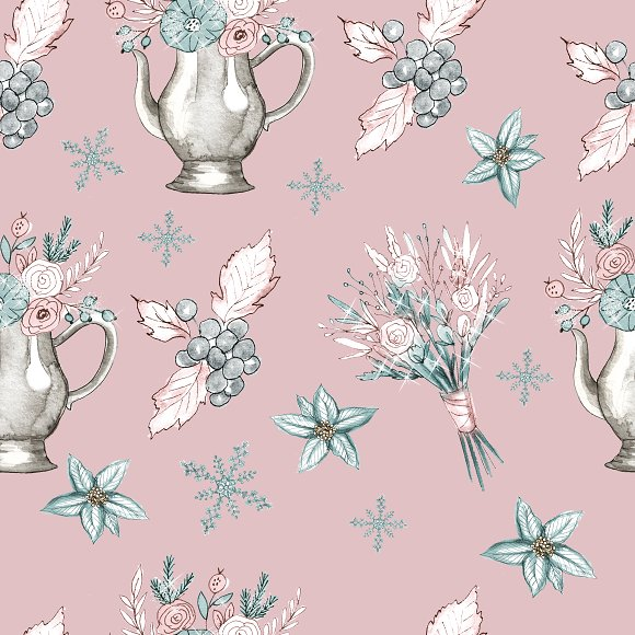 Winter patterns in Patterns - product preview 3