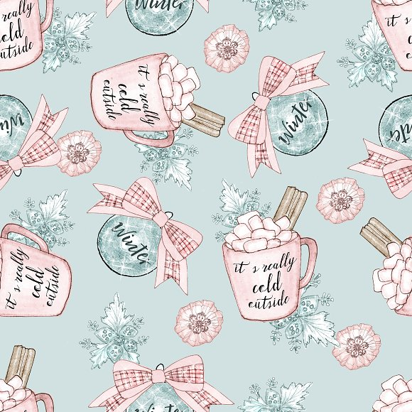 Winter patterns in Patterns - product preview 6