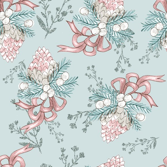 Winter patterns in Patterns - product preview 7