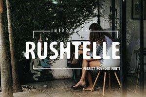 Rushtelle Font | Perfect Rounded