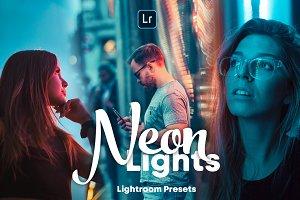 Neon Lights - Lightroom Presets