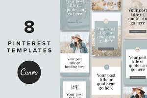 Pinterest Templates: Lacy