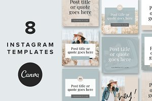 Instagram Post Templates: Lacy