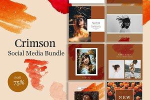 CRIMSON - Social Media Bundle