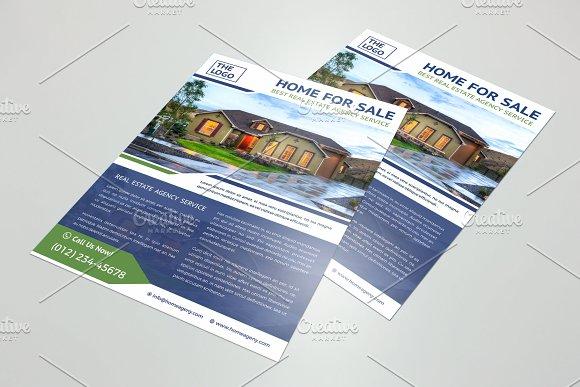 property flyer template flyer templates creative market