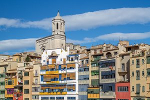 Girona, old quarter and cathedral
