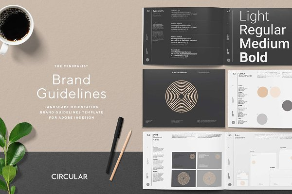 THE MINIMALIST / Brand Guidelines