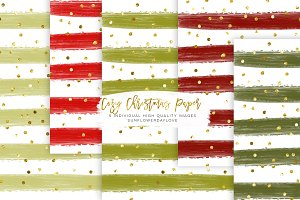 Holiday Stickers paper