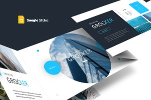 Grocker - Google Slides Template