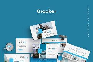 Grocker - Keynote Template