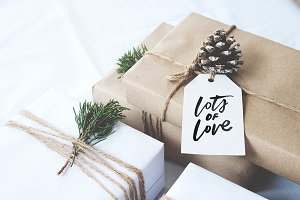 Lots of Love Christmas Gift Tags