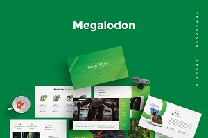 Megalodon -  Powerpoint Template
