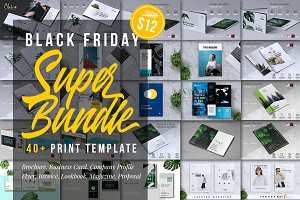 Print Template Black Friday 98% OFF