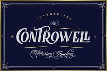 Controwell Victorian Typeface 30%!