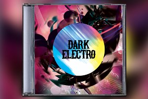 Dark Electro CD Album Artwork