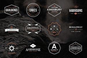 24 Vintage Logos & Emblems