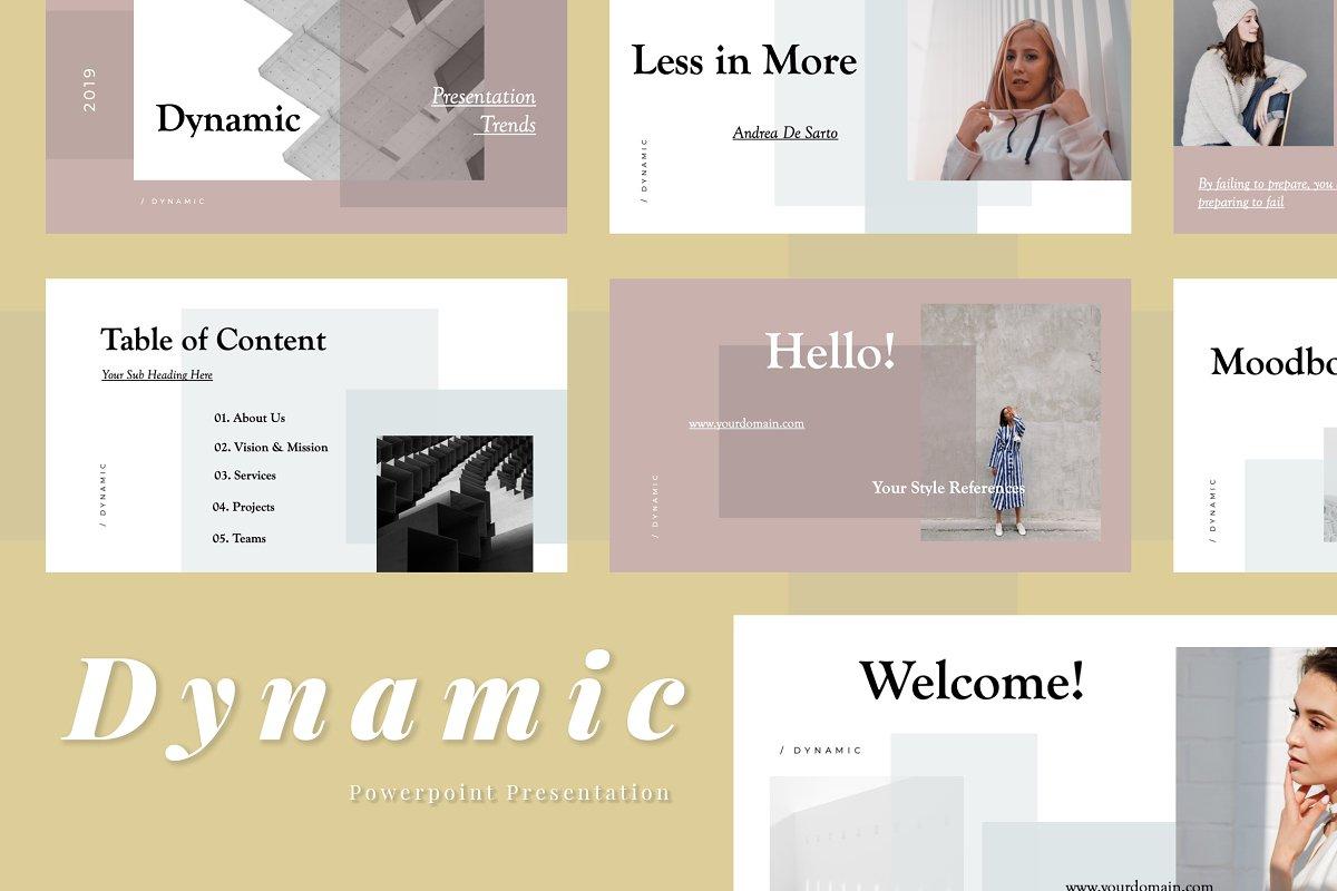 Dynamic Powerpoint Presentation ~ PowerPoint Templates