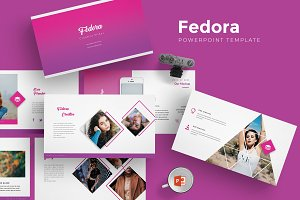 Fedora - Powerpoint Template