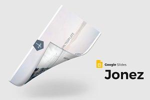 Jonez - Google Slides Template