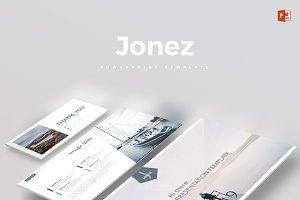 Jonez - Powerpoint Template