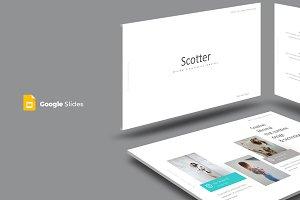 Scotter - Google Slides Template