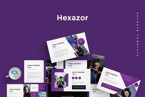 Hexazor - Keynote Template