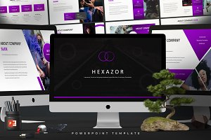 Hexazor - Powerpoint Template