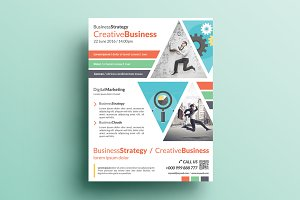 Creative Corporate Flyer V8
