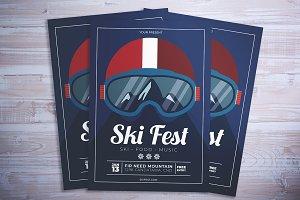 Ski Fest Flyer