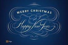 Christmas & New Year Calligraphy
