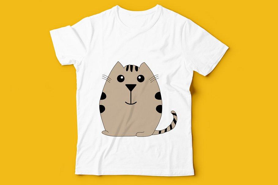 Kids T Shirt Animal Design Arts