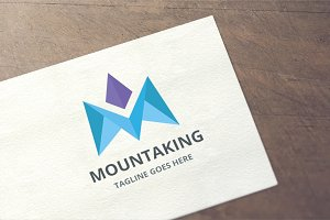 Letter M - Mountaking Logo