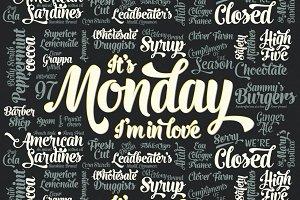 Monday Script Family