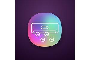 Air ionizer app icon