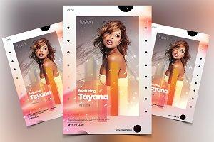 Artist Event - PSD Flyer Template