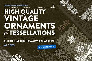 High Quality Ornaments Tessellations