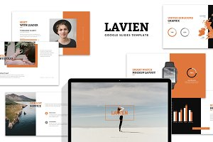 Lavien : Lookbook Google Slides