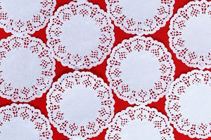 abstract background of white lace