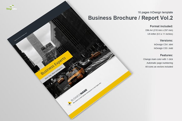 Business Brochure / Report Vol. 2 - Brochures
