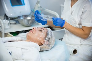Anti-aging treatments. Putting