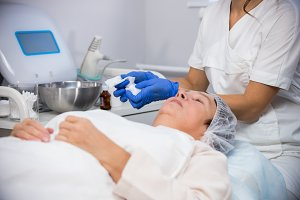 Anti-aging treatments. Cosmetology