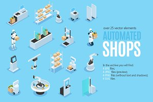 Automated Shops Isometric Set