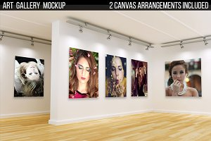 Art Gallery Mock-up