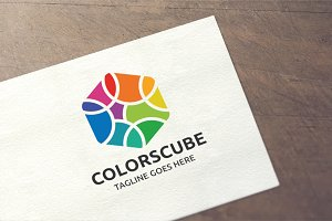 Colors Cube Logo