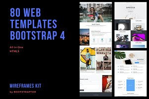 Blueprints Kit Pro Bootstrap 4