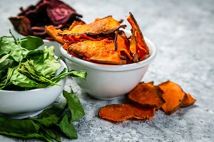 Healthy potato chips alternative -