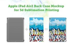 iPad Air2 3d Sublimation Mockup